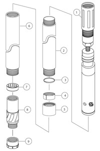 HV Conventional Core Barrel Assembly